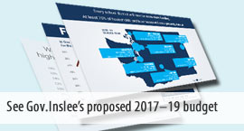 See Governor Inslee's proposed 2017-19 budgets