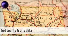 Get county & city data.
