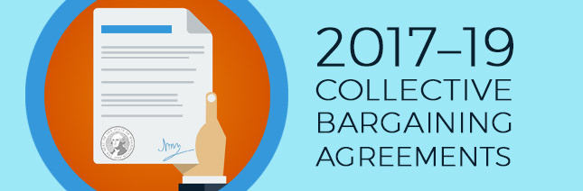 slide 1 of 3 - collective bargaining agreements