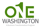 One Washington landing page