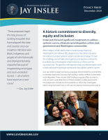 Equity policy brief